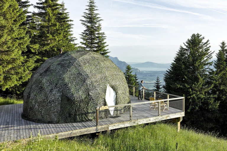 White Pod Eco Luxury Hotel