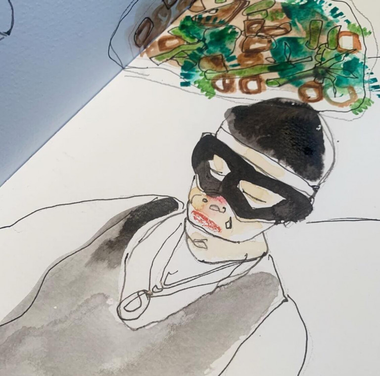 Moazar draws Jay Fai