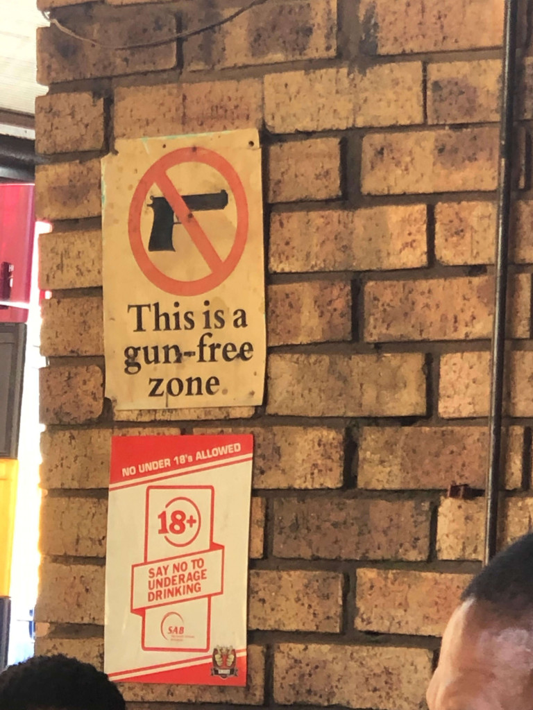 Bar in Soweto!!!