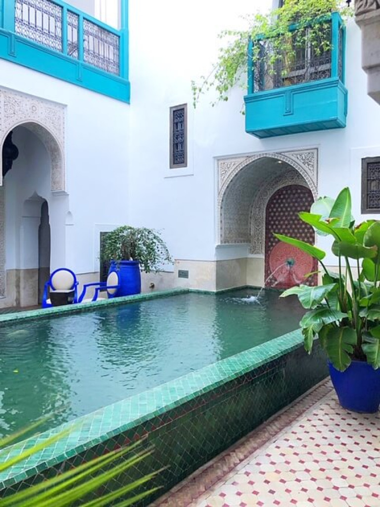 Riad Farnatchi Courtyard