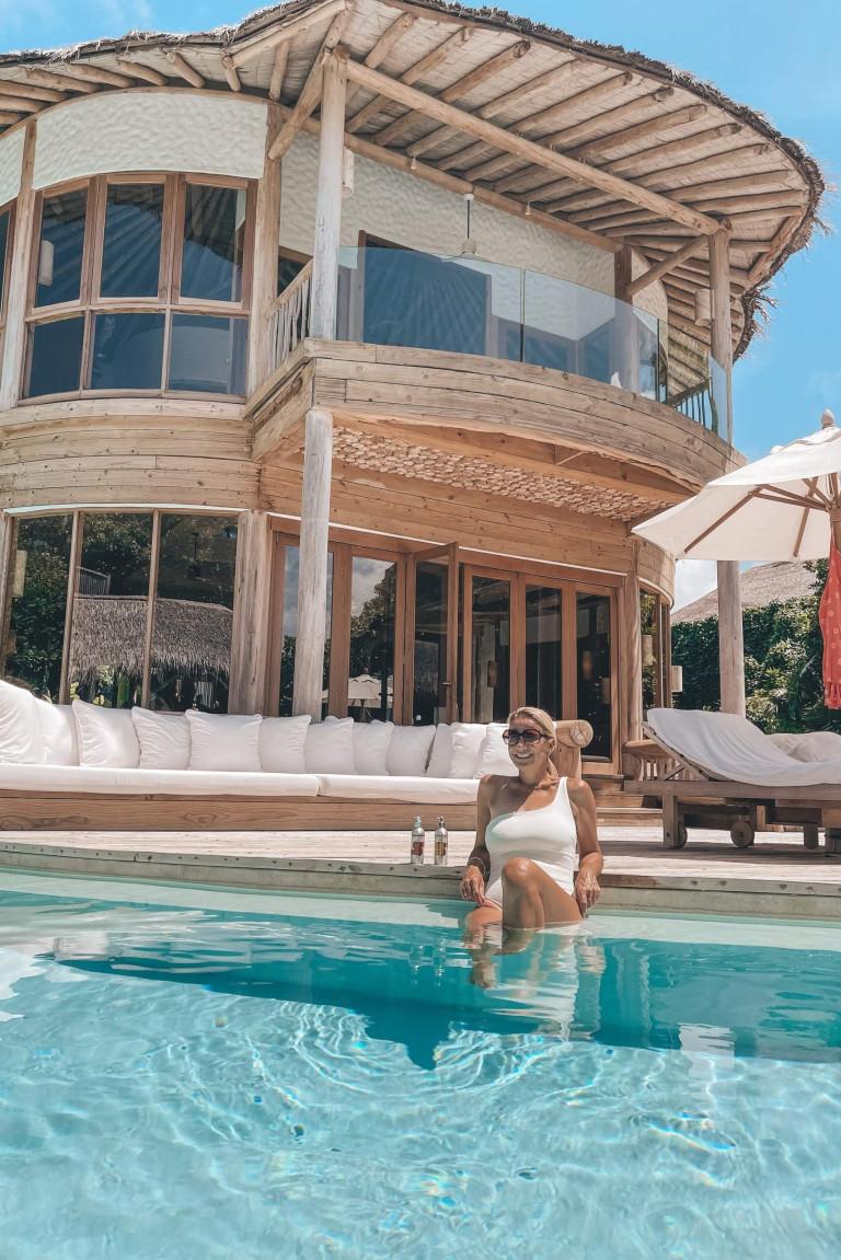 Totally sustainable - sunlotion, swimwear, villa - Soneva Fushi