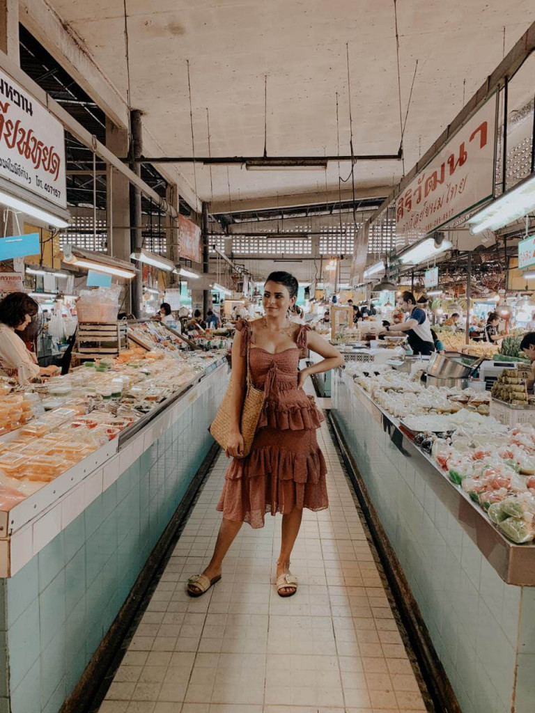 Aasma Galal at Thanin Market