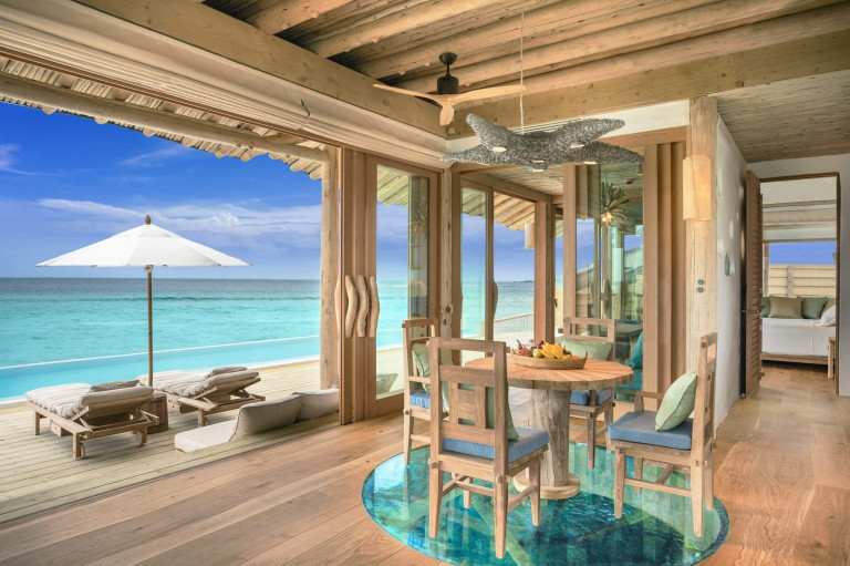 SFR 1BR Water Retreat Living Room