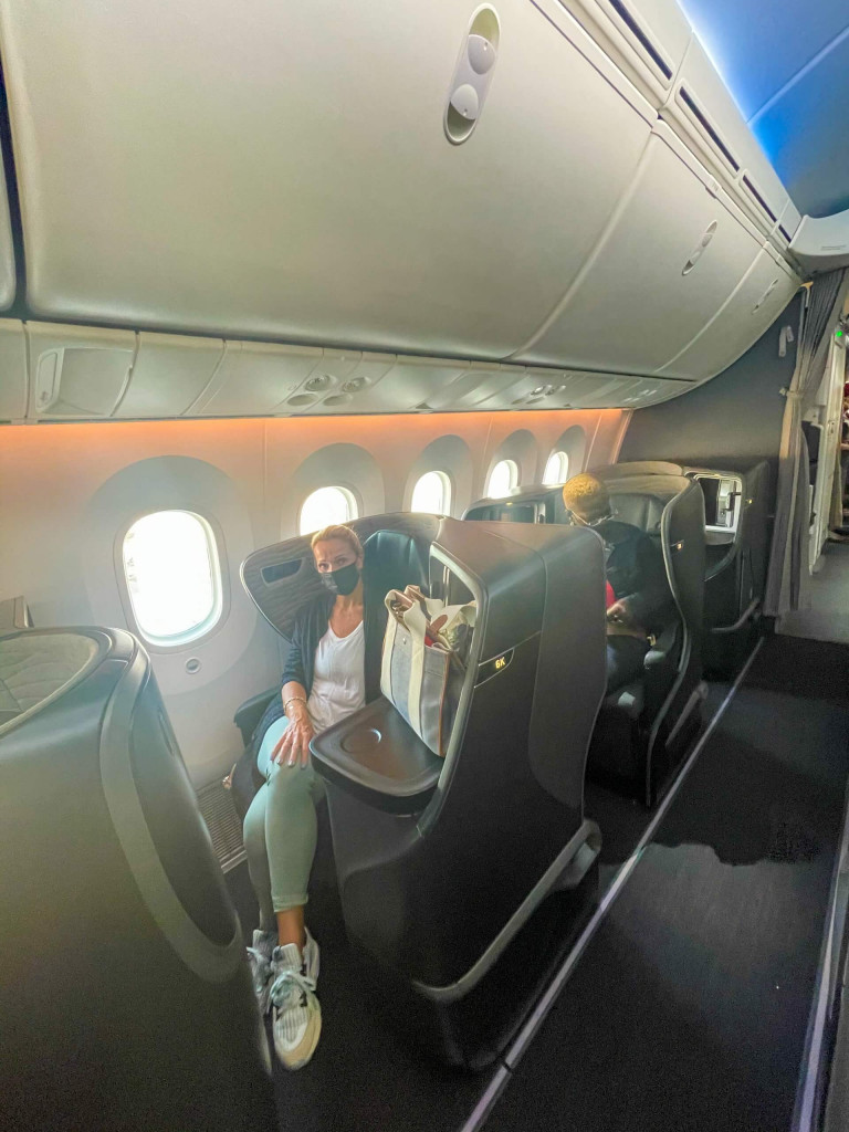Turkish Airlines Business Class Cabins
