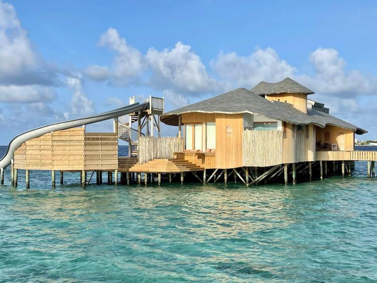 The new water villas at Soneva Fushi