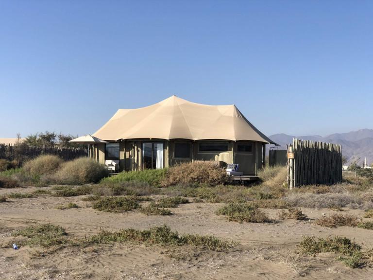 One bedroom tent