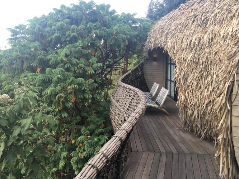 Bisate room balconies