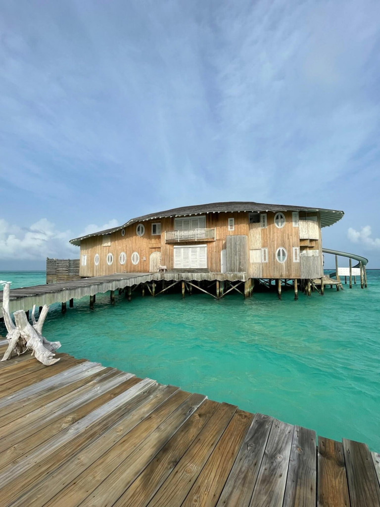 3 bedroom water villa Soneva Jani