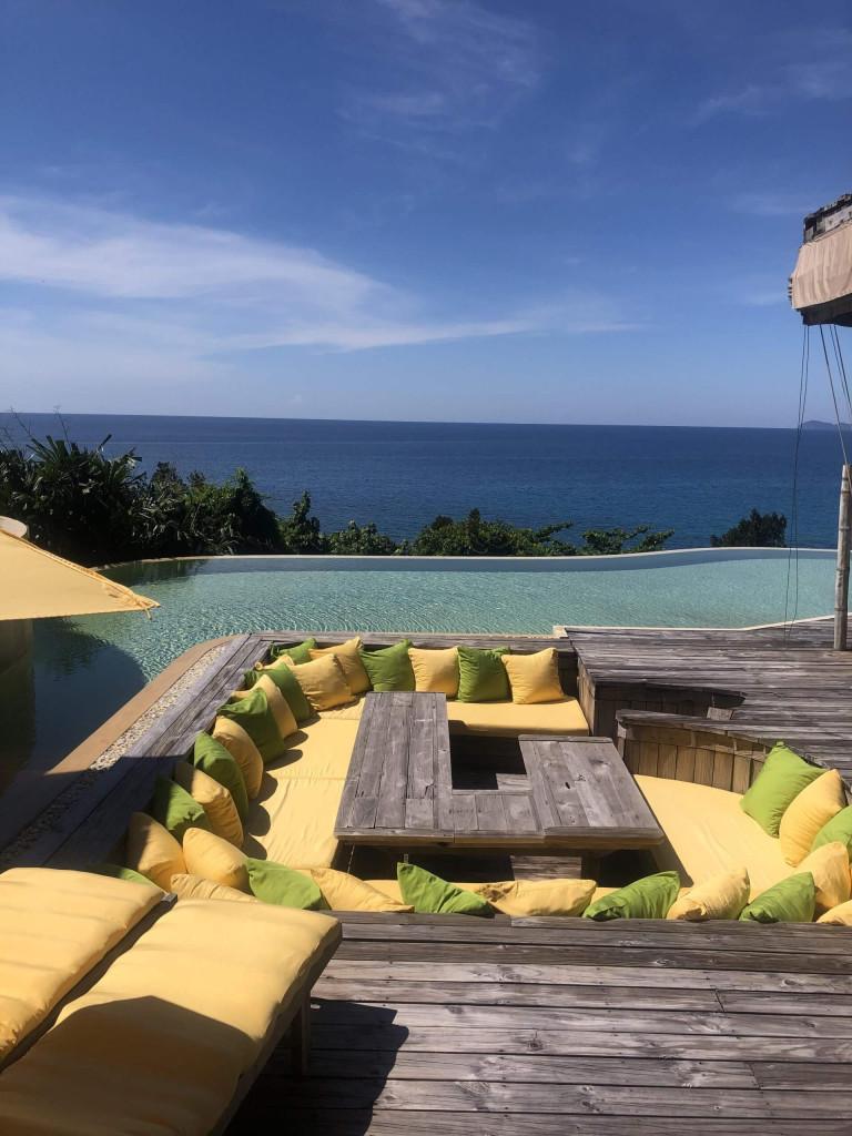 Six bedroom villa sunken dining